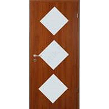 Beltéri AJTÓLAP  dekorfóliás 84x206 cm jobbos  3 ÜV calvados szín AL131