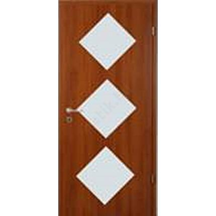 Beltéri ajtó dekorfóliás  Calvados szín100x210x10 cm 3 ÜV jobbos MIX ÉGER MAS158