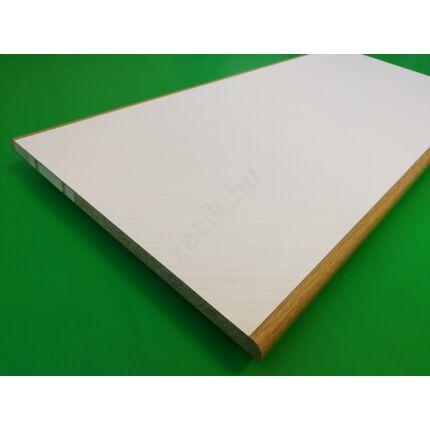 Polclap laminált  860x390 mm ívelt tölgy szín él T1