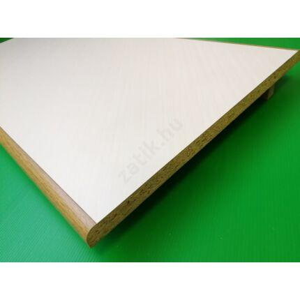 Polclap laminált 440x 860 mm ívelt tölgy szín él T1