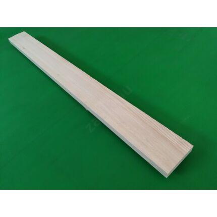 Küszöb kőrisfa  800x 75 mm 22 mm vastag  küszöbsín marással 90x210 belső ajtókhoz