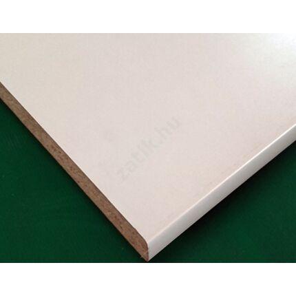 Konyhai munkalap laminált 1650x600x38 mm fehér 1106 GL 447.sz.