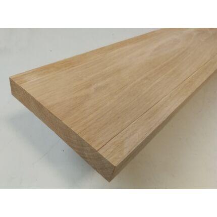 Küszöb tölgy 1000x120 mm 24 mm vastag küszöbsín horony marással fa küszöb