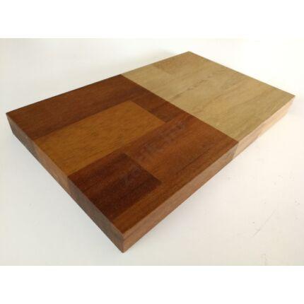 Asztallap táblásított IROKO fa HT 25 mm 2500x1000 mm 2,5 m2 / tábla kb. 50 kg TRO ZA  HU++