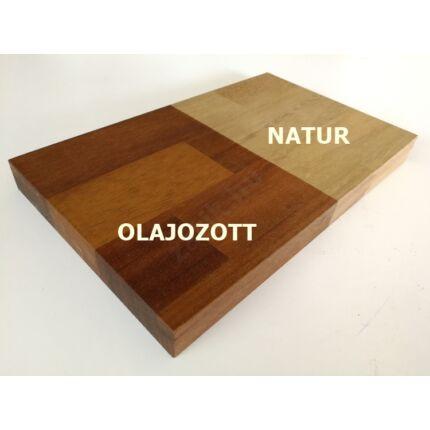 Asztallap táblásított IROKO fa HT 25 mm 2500x1250 mm 3,125 m2 / tábla kb. 60 kg TRO ZA  HU++