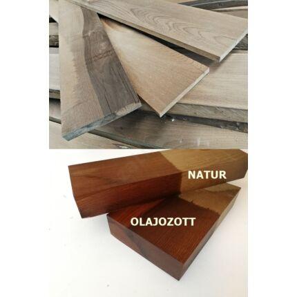 Bükkfa fűrészáru hőkezelt hobbifa 15-25x150x1300-1500 mm  termo bükkfa deszka