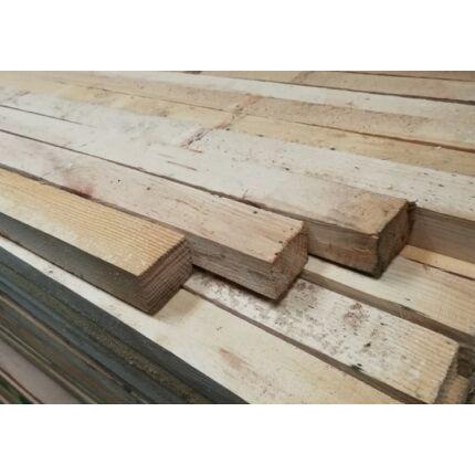 Fenyő fűrészáru  stafni fa 40x60x3000 mm barkácsléc borovi fenyő stafni ( prémium )