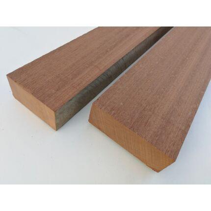 Sipo mahagóni fűrészáru hobbyfa 52 mm OF. 1000 mm alatt szárított
