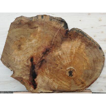 Platánfa rönk fa szelet 1300x1000 mm  40 mm vastag kb. 1,3 m2 fa korong 2 sz.