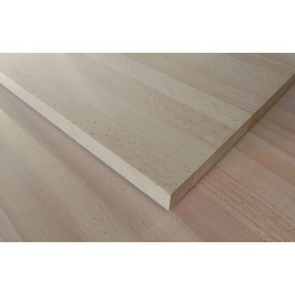 Konyhai munkalap táblásított bükkfa gőzölt TM 28 mm 2750x650 mm A min. 1,79 m2 / tábla toldásmentes