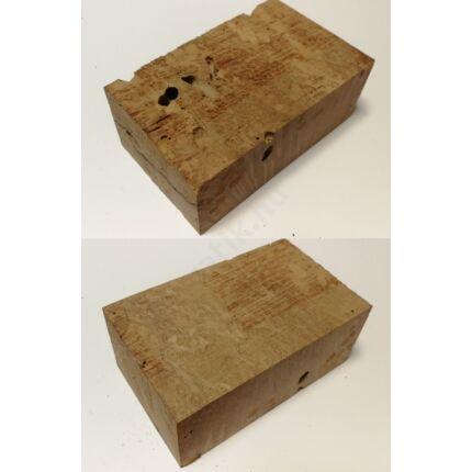 Rózsafa gyökér cse csen 45x 60x100 mm 9. sz  0,29 kg Caribian Rose wood burl