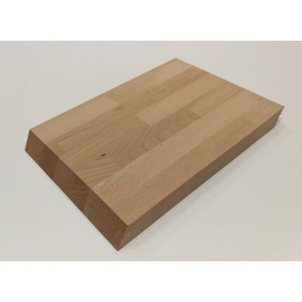 Konyhai vágódeszka bükkfa tölgyfa 280x210x28 mm