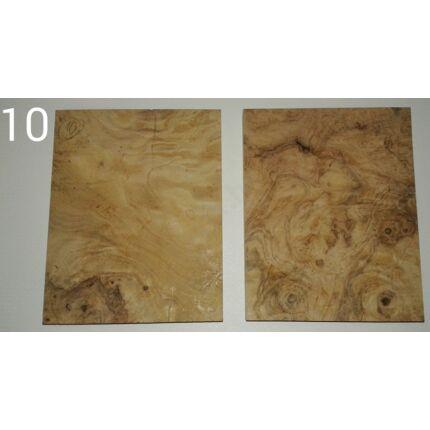 Diófa gyökér falap hobbyfa 20x170x135 mm  10. sz HU++