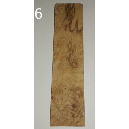 Diófa gyökér falap hobbyfa 20x300x75 mm  6. sz HU++