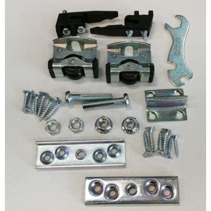 Beltéri ajtó tolóajtó vasalat SF-E40  görgő készlet alumínium sínhez ( max. 40 kg ajtólaphoz)