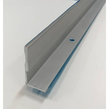 Alumínium profil L 22x45x2100 mm 2 mm falvastagság