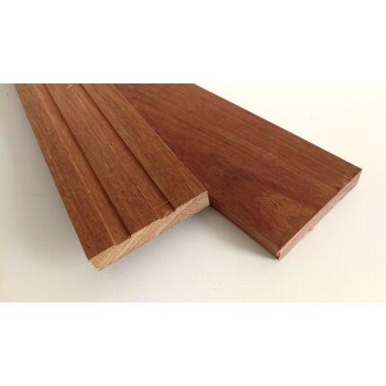 Merbau fa fűrészáru hobbyfa 15x85x590 mm