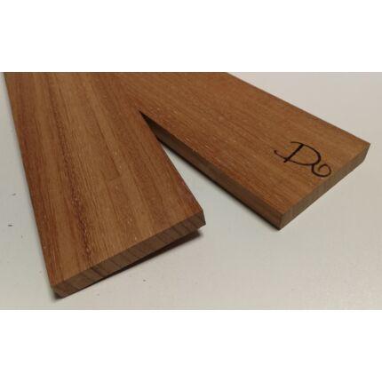 Doussie fa fűrészáru hobbyfa 27 mm OF.  1000-1400 m  AFZELIA szélezett szárított