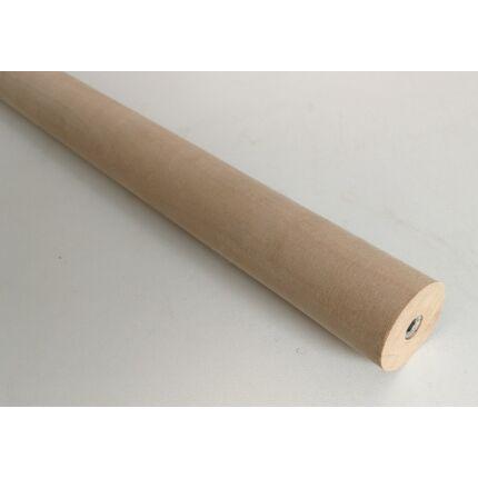 Polcépítő farúd hengeres bükkfa átm. 40x450 mm M6 -os menetes hüvellyel MF HU+
