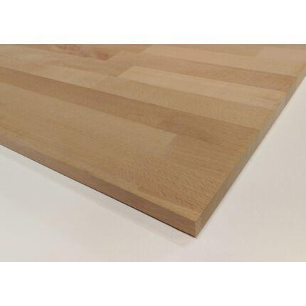 Konyhai munkalap táblásított bükkfa gőzölt HT 40 mm 2000x650  mm A min 1,3 m2/tábla