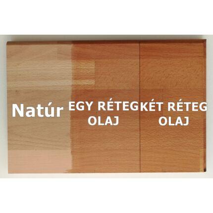 Konyhai munkalap táblásított bükkfa gőzölt HT 40 mm 1700x650 mm A min 1,13 m2/tábla