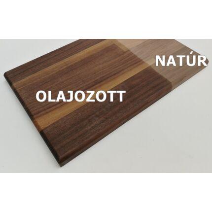 Konyhai munkalap táblásított  diófa HT 35 mm 1500x650 mm 0,975 m2 / 26 kg / tábla ZA  HU++