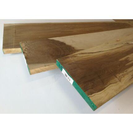 Mansonia fa fűrészáru 27 mm OF. 2300 mm  szélezett szárított
