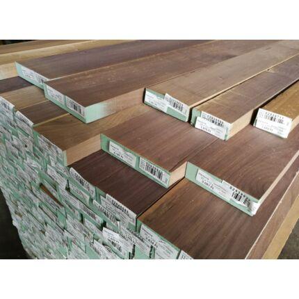Mansonia fa fűrészáru 35 mm OF. 1000-1700 mm  szélezett szárított