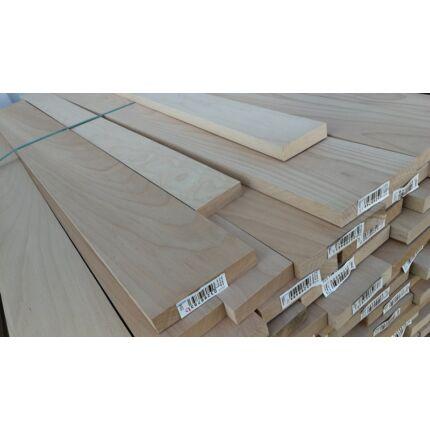 Gyalult gőzölt bükkfa fűrészáru 23(27) mm 1200 mm OF szárított gyalult deszka