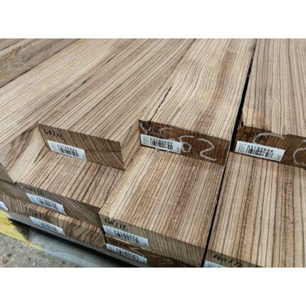 Zebránó fa fűrészáru hobbi fa 50x140x400 mm  zebrafa