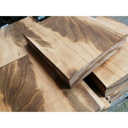 Tigris fa fűrészáru hobby fa 45x200x400 mm 2. osztályú Goncalo Alves tigerwood