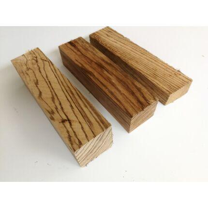 Zebránó fa fűrészáru hobbi fa 4. sz 50-70x50x200 mm 40-65 dkg/db zebrafa