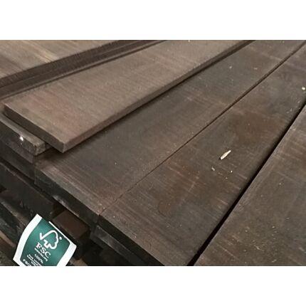 Wenge fa fűrészáru  27x200x3000 mm