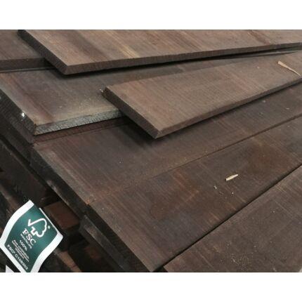 Wenge fa fűrészáru  27x200x3300 mm