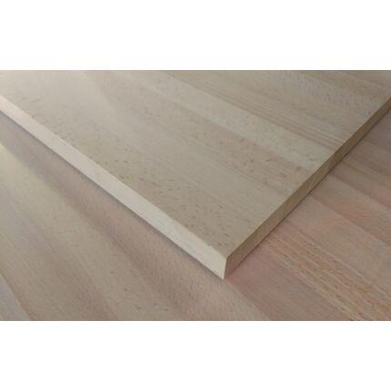 Konyhai munkalap táblásított bükkfa gőzölt TM 30 mm 1600x680 mm A min. 1,08 m2 / tábla toldásmentes