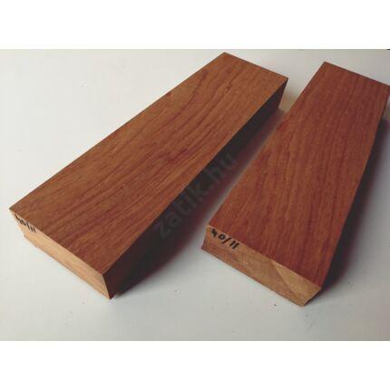 Jatoba fa fűrészáru hobbyfa 52x120x400 mm