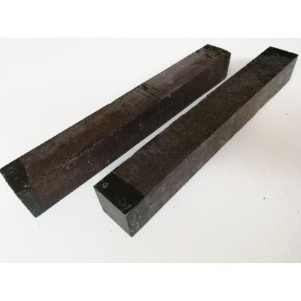Blackwood afrikai feketefa 48x48x390 mm  Grenadille wood