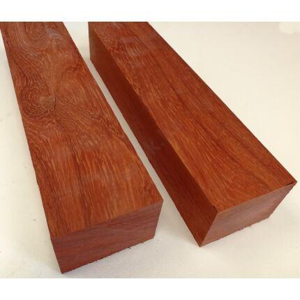Padauk fa fűrészáru hobby fa 50x70x300 mm