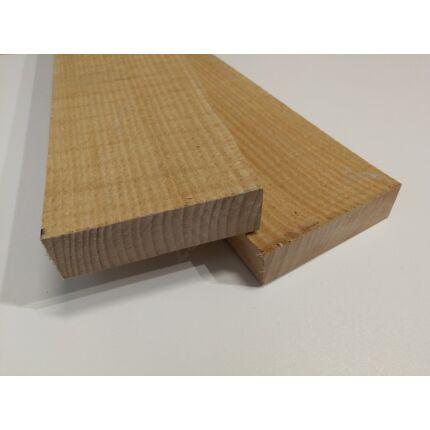 Gőzölt bükkfa fűrészáru hobbyfa 32x100x600 mm