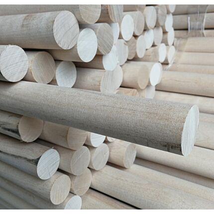 Lépcsőkorlát kapaszkodó rúdfa nyírfa átm. 40x1200 mm korlát farúd HU+