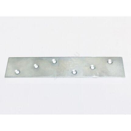 Perforált acél lemez lap 200x 40x2 mm horganyzott MMF