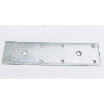 Perforált acél lemez lap 230x 60x4 mm horganyzott MMF