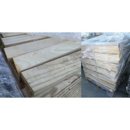 Kőrisfa fűrészáru hobbyfa 23x75x850 mm 2. oszt 476 db/ 0,698 m3 /raklap