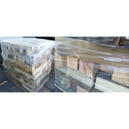 Borovi fenyő hobby fa 85x185x70-800 mm kb 0,5 m3/ raklap telített impregnál hasábok