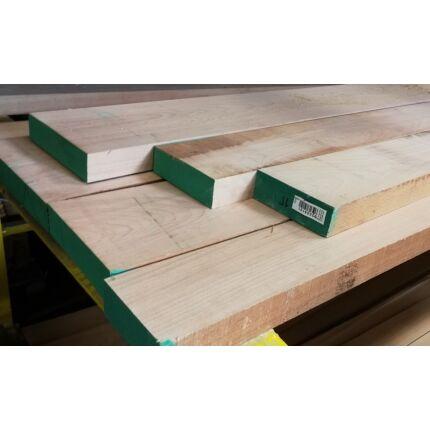 Gyalult gőzölt bükkfa fűrészáru 44 mm  2200 mm OF szárított gyalult változó szélességgel