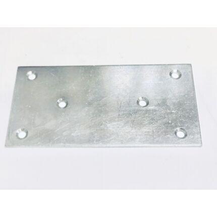 Perforált acél lemez lap 140x70x2 mm horganyzott MMF