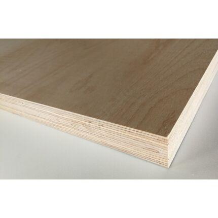 Asztallap táblásított bükkfa MULTIPLEX 40 mm 2500x530 mm rétegelt lemez 1,325 m2 / 42 kg / tábla
