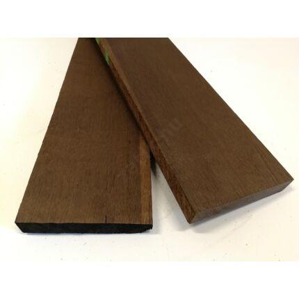 Tölgyfa füstölt  hobby fa 27x150-180x750-1000 mm hőkezelt