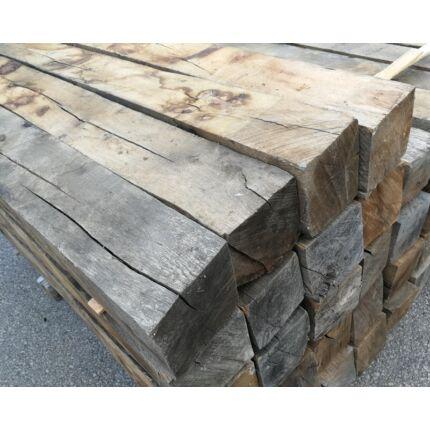 Tölgyfa gerenda 100x100x2700 mm  kb. 23 Kg/db
