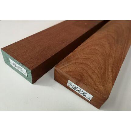 Niangon mahagóni fűrészáru hobby fa 50 mm OF. 1000 mm alatt szárított szélezett